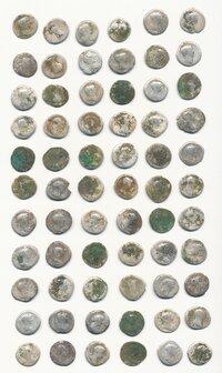 Část mincovního depotu (fotoarchiv Ostravského muzea)